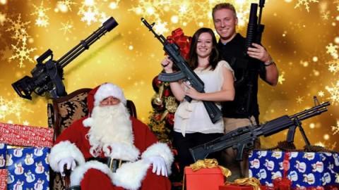 guns santa