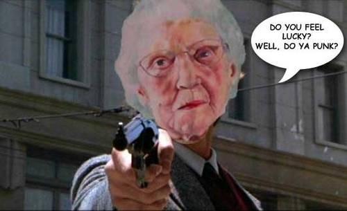 Gun-toting Grandma