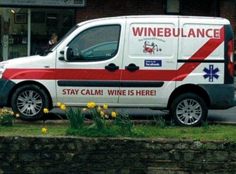 Emergency Wine . . .
